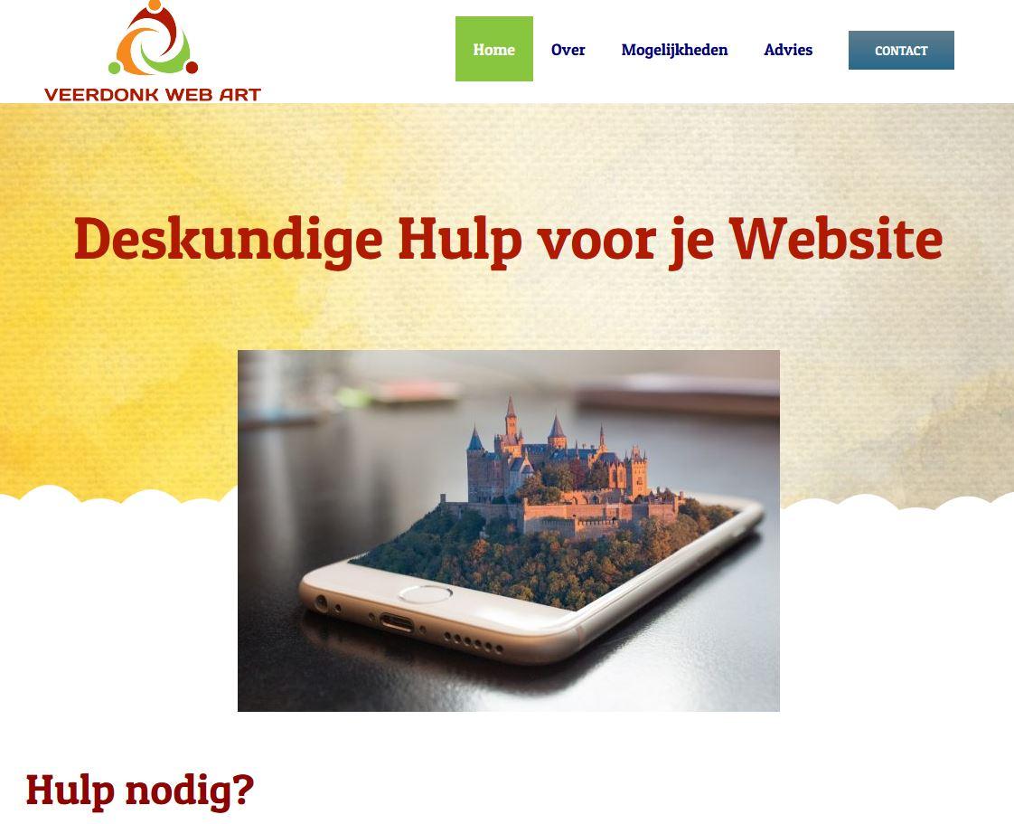 Kijk eens op www.veerdonkwebart.nl voor websites, video- en foto bewerking